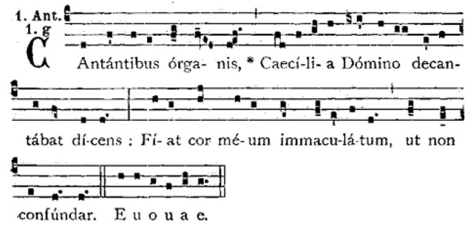cantantibus organis